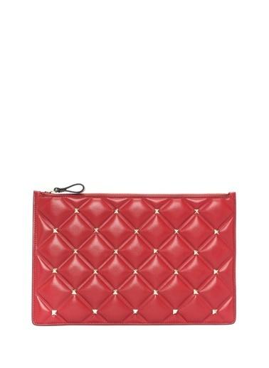 Valentino Clutch / El Çantası Kırmızı